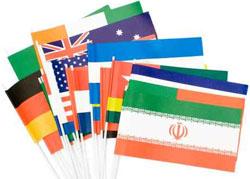 permis de conduire étranger drapeaux
